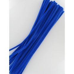 Pfeifenputzer blau, 6mm x 300mm, 50Stk.