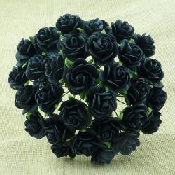 Rosen, schwarz, 20mm