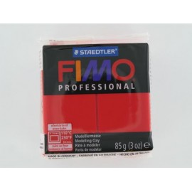 Fimo Professional, echtrot, 85g