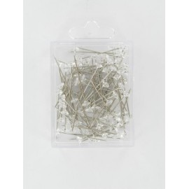 Diamond Pins, transparent, 11x63mm, 55 Stück