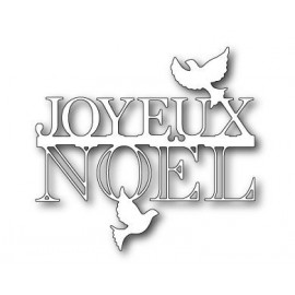 "Stanzform ""Peaceful Joyeux Noel"", 10.2x9.7cm"