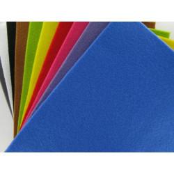 Textilfilz, 21x30cm, 10 Farben-Set, 4mm