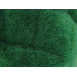 Filzwolle, grasgrün, 50g