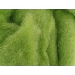 Filzwolle, hellgrün, 50g