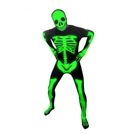 Morphsuit Kids, Glow Skeleton