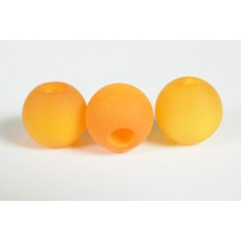 Polarisperle orange, 14mm