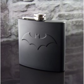 Batman Flachmann, 6oz, 1.77dl