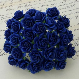 Rosen royal blau, 10mm