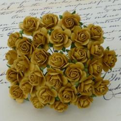 Rosen, gold, 20mm