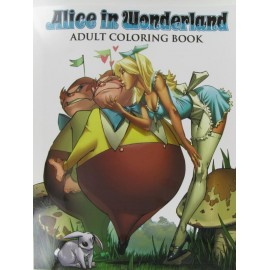 Alice in Wonderland, Malbuch, 22x28cm