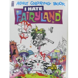 I hate Fairyland, Malbuch, 20x30cm
