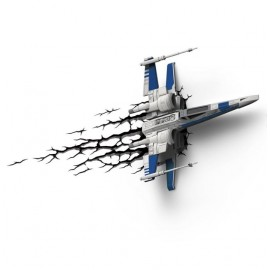 Star Wars, Star Fighter, 3D-Deko Wandleuchte