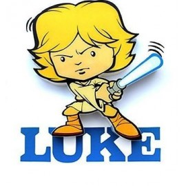 Star Wars, Luke, 3D-Mini-Wandlicht