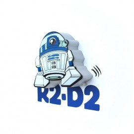 Star Wars, R2-D2, 3D-Mini-Wandlicht