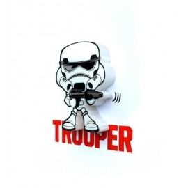 Star Wars, Stormtrooper, 3D-Mini-Wandlicht