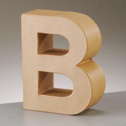 Kartonbuchstabe B