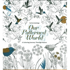 Our patterned World, Malbuch, 84 Seiten