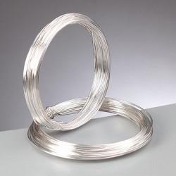 Silberdraht mit Kupferkern, 0.6mm, 20m