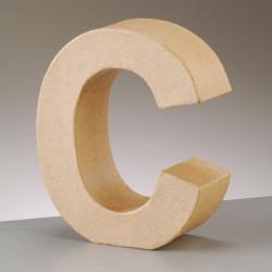 Kartonbuchstabe C