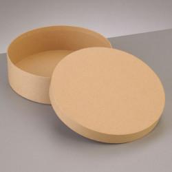 Kartonbox rund, Ø 16.5cm,  Höhe: 5cm