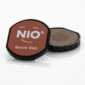 NIO Stempelkissen, Ø40mm, brave red