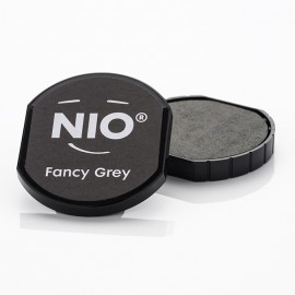 NIO Stempelkissen, Ø40mm, fancy grey