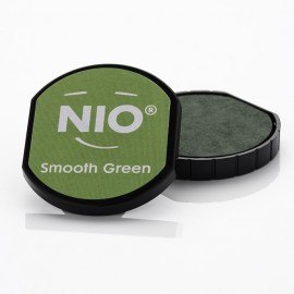 NIO Stempelkissen, Ø40mm, smooth green