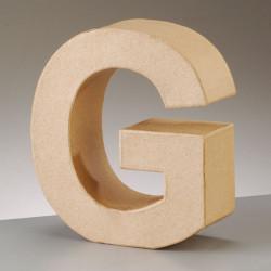 Kartonbuchstabe G, gross