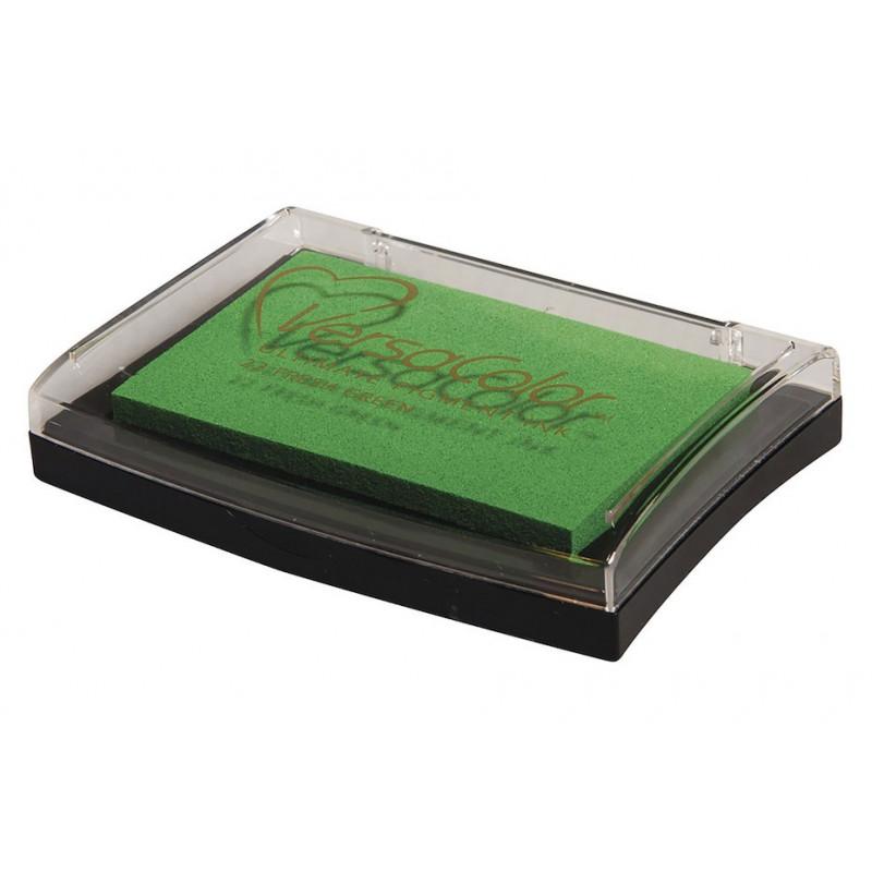 Stempelkissen, hellgrün, 6x9.5cm