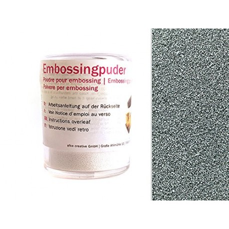 Embossingpulver, silber, 10g