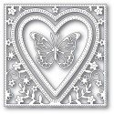 "Stanzform ""Butterfly Heart Frame"""