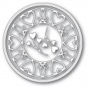 """Stanzform """"Scrollwork Heart Circle Frame"""""""