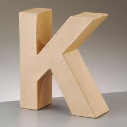 Kartonbuchstabe K, gross