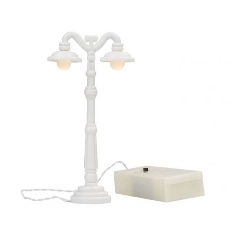 LED-Laterne weiss, 13cm