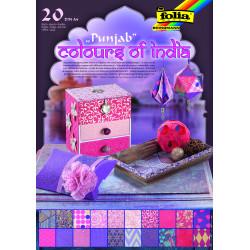 Naturpapier Block COLOURS OF INDIA - Punjab