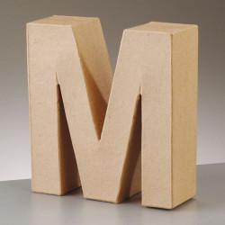 Kartonbuchstabe M, gross