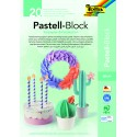 Pastell-Block, Tonpapier und Fotokarton, DIN A4