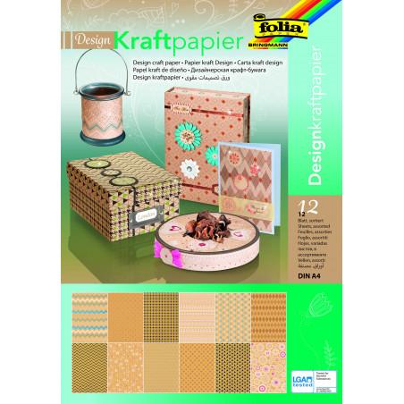 Design-Kraftpapierblock, DIN A4