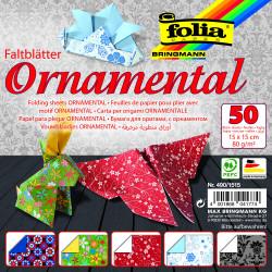 Faltblätter ORNAMENTAL 80g/m², 15x15cm