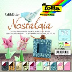 Faltblätter NOSTALGIA 80g/m², 15x15cm