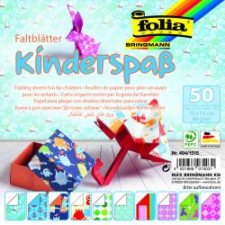 Faltblätter KINDERSPASS 80g/m², 15x15cm