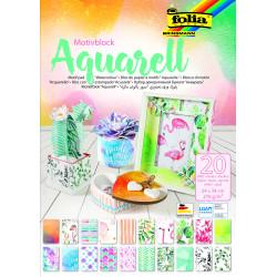 Motivblock Aquarell, 24x34cm