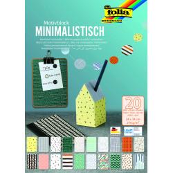 Motivblock Minimalistisch, 24x34cm