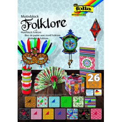Motivblock Folklore, 24x34cm