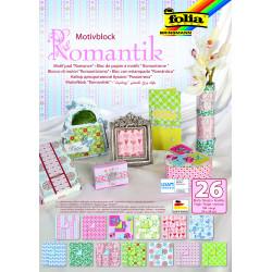 Motivblock Romantik, 24x34cm