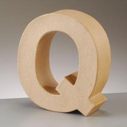 Kartonbuchstabe Q, gross