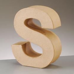 Kartonbuchstabe S, gross