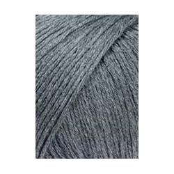 Wolle Baby Cotton, blau-melange, 50g/180m
