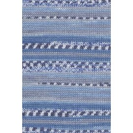 "Lang ""Baby Cotton Color"", blau"