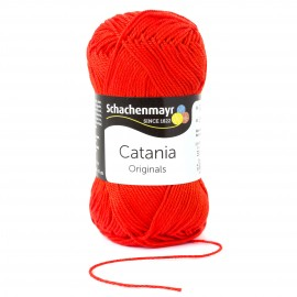 """Wolle """"Catania"""", tomate"""